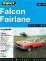 Ford Falcon and Fairlane 8 Cyl (72 - 76) Gregorys Repair Manual