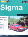 Mitsubishi Sigma (80 - 83) Gregorys Repair Manual