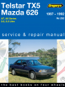 Ford/Mazda Telstar, TX5 and 626 (87 - 92) Gregorys Repair Manual