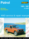 Nissan Patrol,Diesel, (80 - 87) Gregorys Repair Manual
