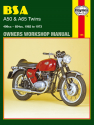 BSA A50 & A65 Twins 1962 - 1973 Haynes Repair Manual