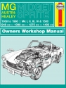 MG Midget & Austin-Healey Sprite (58 - 80) Haynes Repair Manual