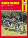 Triumph Tiger Cub & Terrier (52 - 69) Haynes Repair Manual