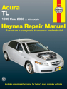 Acura TL for TL models (1999-2008) Haynes Repair Manual (USA)