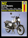 MZ ETZ Models (81 - 95) Haynes Repair Manual