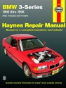 BMW 3 Series (1992-1998) Haynes Repair Manual (USA)