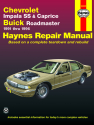 Chevrolet V8, Impala SS, Caprice & Buick Roadmaster (1991-1996) Haynes Repair Manual (USA)