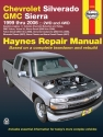 Chevrolet Silverado & GMC Sierra petrol (1999-2006) Haynes Repair Manual (USA)