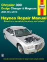 Chrysler 300 (2005-2010), Dodge Charger (2006-2010) & Magnum (2005-2008) Haynes Repair Manual (USA)
