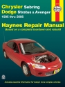 Chrysler Sebring & Dodge Stratus/Avenger (95-06) Haynes Repair Manual (USA)