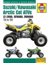 Suzuki/Kawasaki Arctic Cat ATVs (03 - 09) Haynes Repair Manual