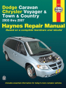 Dodge Caravan, Chrysler Voyager & Town & Country (2003-2007) Haynes Repair Manual (USA)