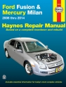 Ford Fusion & Mercury Milan (2006-2014) Haynes Repair Manual (USA)