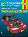 Ford Thunderbird & Mercury Cougar (1989-1997) Haynes Repair Manual (USA)