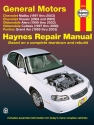 General Motors covering Chevrolet Malibu (97-03), Oldsmobile Alero (99-03), Oldsmobile Cutlass (97-00), & Pontiac Grand Am (99-03) Haynes Repair Manual (USA)