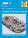 Saab 9-5 Petrol (97 - 05) Haynes Repair Manual