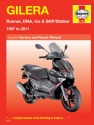 Gilera Runner, DNA, Ice & SKP/Stalker (97 - 11) Haynes Repair Manual