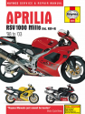 Aprilia RSV1000 Mille (98 - 03) Haynes Repair Manual