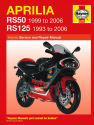 Aprilia RS50 (99 - 06) & RS125 (93 - 06) Haynes Repair Manual