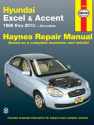 Hyundai Excel & Accent (1986-2013) Haynes Repair Manual (USA)