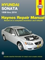 Hyundai Sonata (199-2014) Haynes Repair Manual (USA)