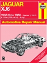 Jaguar XJ6 (1968-1986) Haynes Repair Manual (USA)