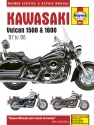 Kawasaki Vulcan 1500 & 1600 (87 - 08) Haynes Repair Manual