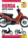 Honda ANF125 Innova Scooter (03 - 12) Haynes Repair Manual