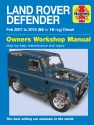 Land Rover Defender Diesel (2007 - 2016)  Haynes Repair Manual