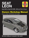 Seat Leon (Sept 05 - Sept 12) 55 to 62 Haynes Repair Manual