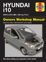 Hyundai i10 (08 - 13) 58 to 63 Petrol Haynes Repair Manual