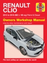 Renault Clio Petrol & Diesel (13 - 18) 62 to 18 Haynes Repair Manual