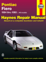 Pontiac Fiero (1984-1988) Haynes Repair Manual (USA)