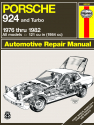 Porsche 924 (1976-1982) Haynes Repair Manual (USA)
