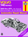 Volvo 140 Series (1966-1974) Haynes Repair Manual (USA)
