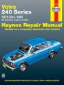Volvo 240 Series petrol (1976-1993) Haynes Repair Manual (USA)