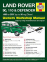 Land Rover 90, 110 and Defender Diesel (83 - 07) up to 56 Haynes Online Manual
