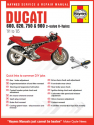 Ducati 600, 620, 750 and 900 2-valve V-Twins 1991 - 2005 Haynes Online Manual