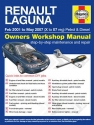 Renault Laguna Petrol and Diesel (Feb 01 - May 07) X to 07 Haynes Online Manual