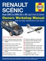 Renault Scenic Petrol and Diesel (Sept 03 - 06) 53 to 06 Haynes Online Manual
