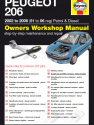 Peugeot 206 Petrol and Diesel (02 - 09) 51 to 59 Haynes Online Manual