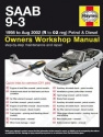 Saab 9-3 Petrol and Diesel (98 - Aug 02) R to 02 Haynes Online Manual