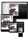 Triumph 1050 Sprint ST, Speed Triple & Tiger (2005-2015) Haynes Online Manual