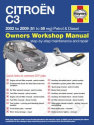 Citroen C3 Petrol and Diesel (02 - 09) 51 to 59 Haynes Online Manual