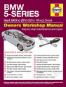 BMW 5 Series Diesel (Sept 03 - 10) 53 to 10 Haynes Online Manual