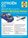 Citroen C1 Petrol (05 - 11) 05 to 11 Haynes Online Manual