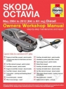 Skoda Octavia Diesel (May 04 - 12) 04 to 61 Haynes Online Manual