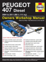 Peugeot 407 Diesel (04 - 11) 53 to 11 Haynes Online Manual