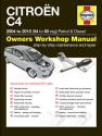 Citroen C4 Petrol and Diesel (04 – 10) 54 to 60 Haynes Online Manual