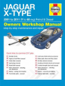 Jaguar X Type Petrol and Diesel (01 - 11) Y to 60 Haynes Online Manual